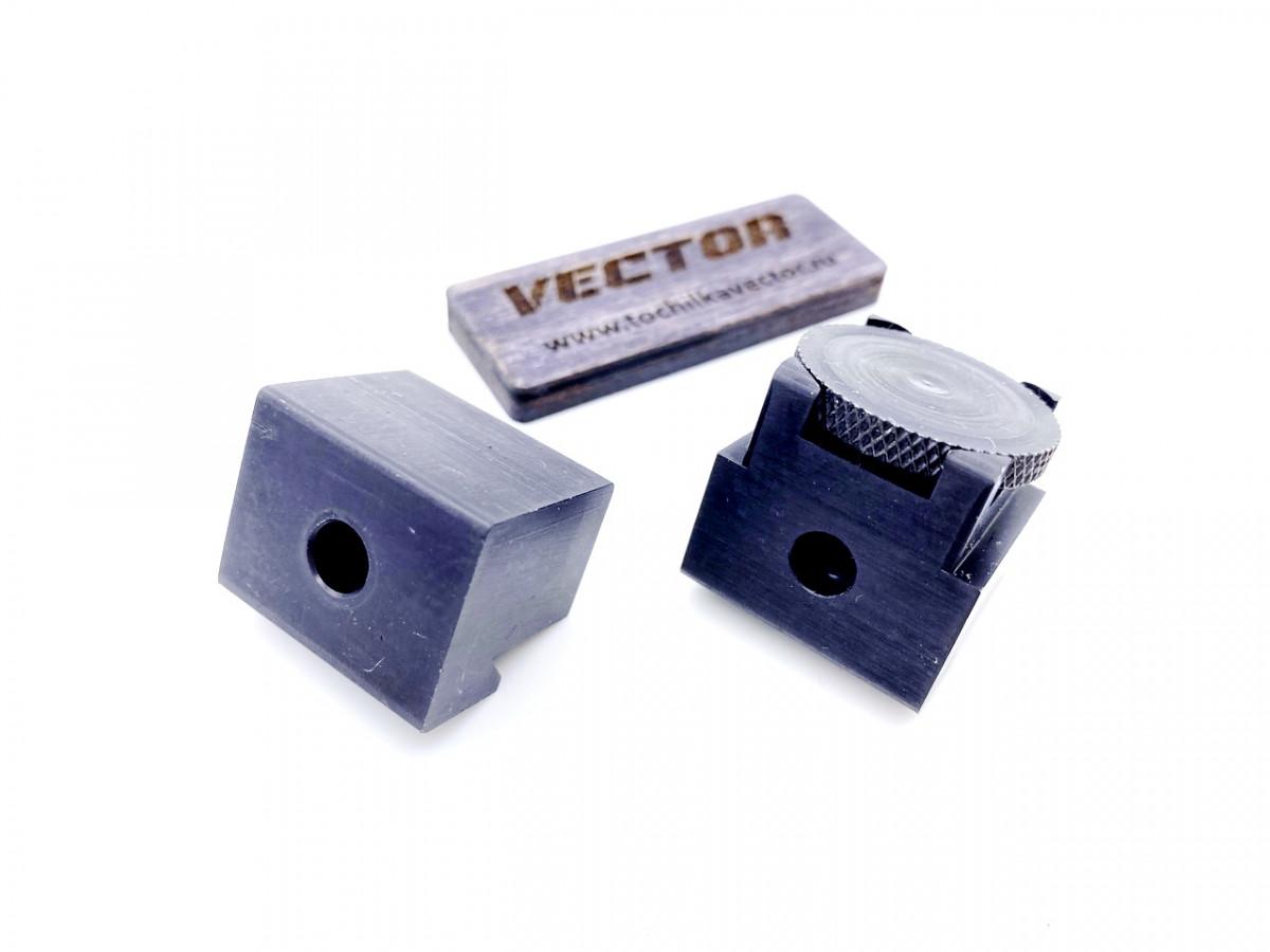 Кубики держателя абразива с площадкой под угломер