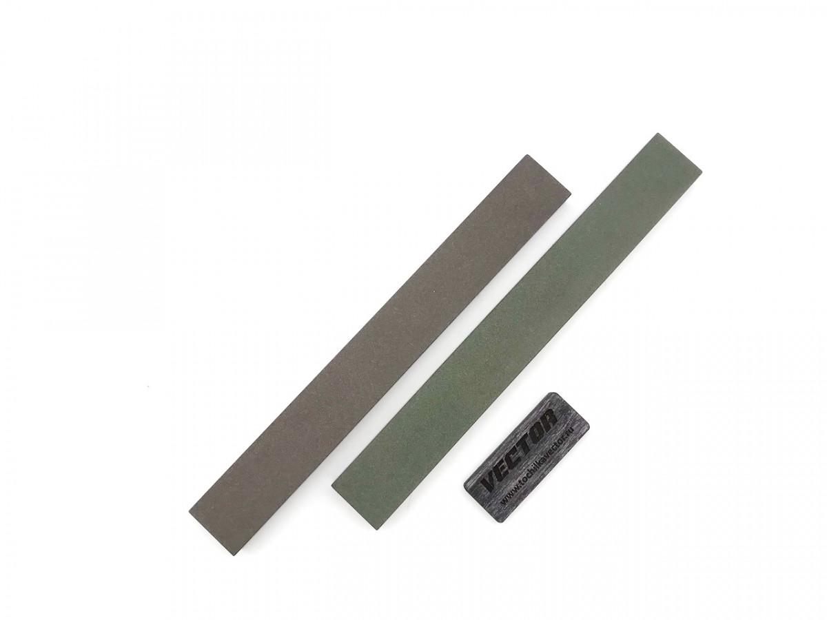 Комплект 2-х сторонних алмазных брусков VID 2 шт (4 зерна), 200мм, С100%