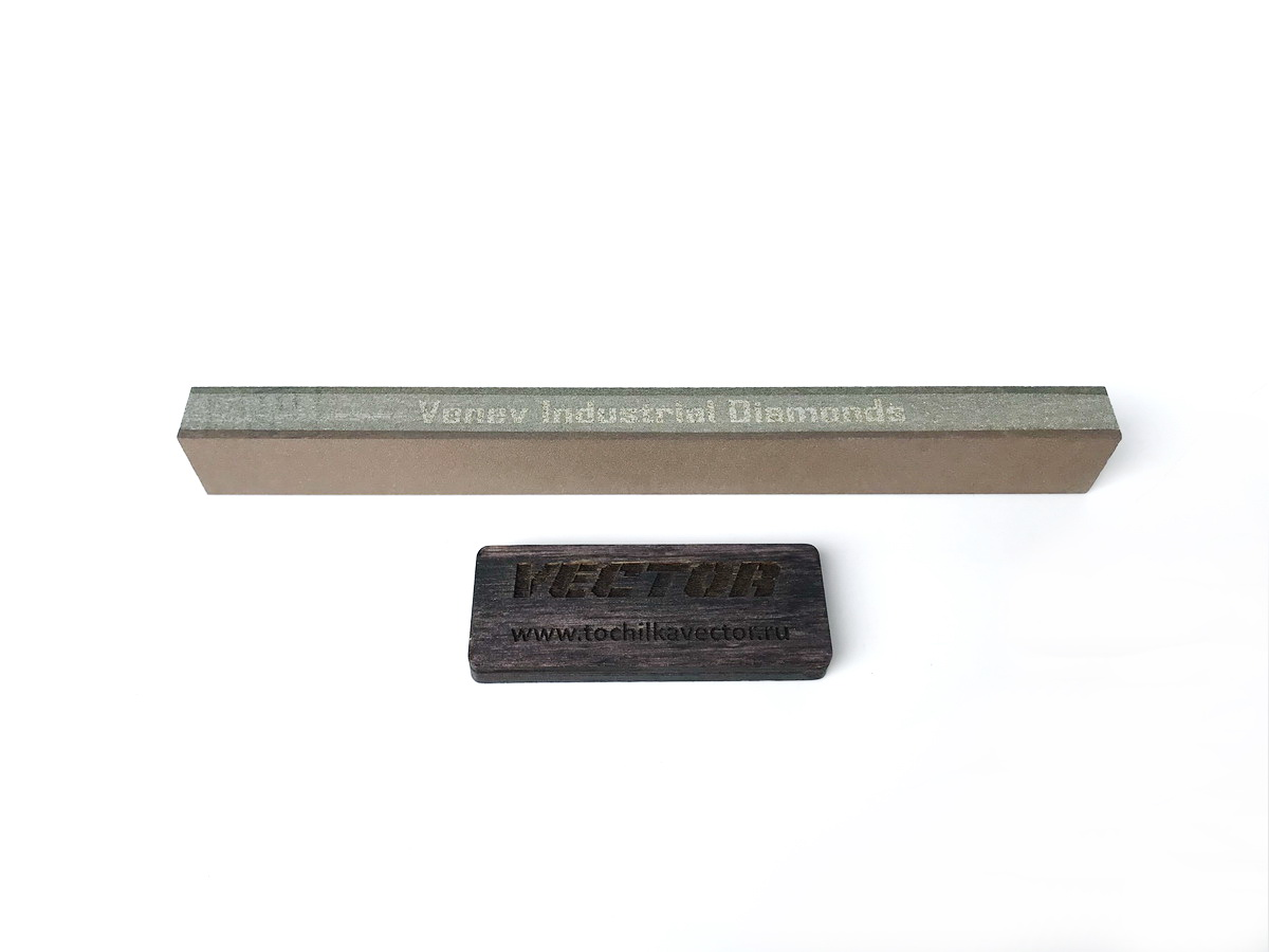 Алмазный 2-х сторонний брусок VID 3/2-1/0 (5000-9000grit) С100%, 150х16х10мм