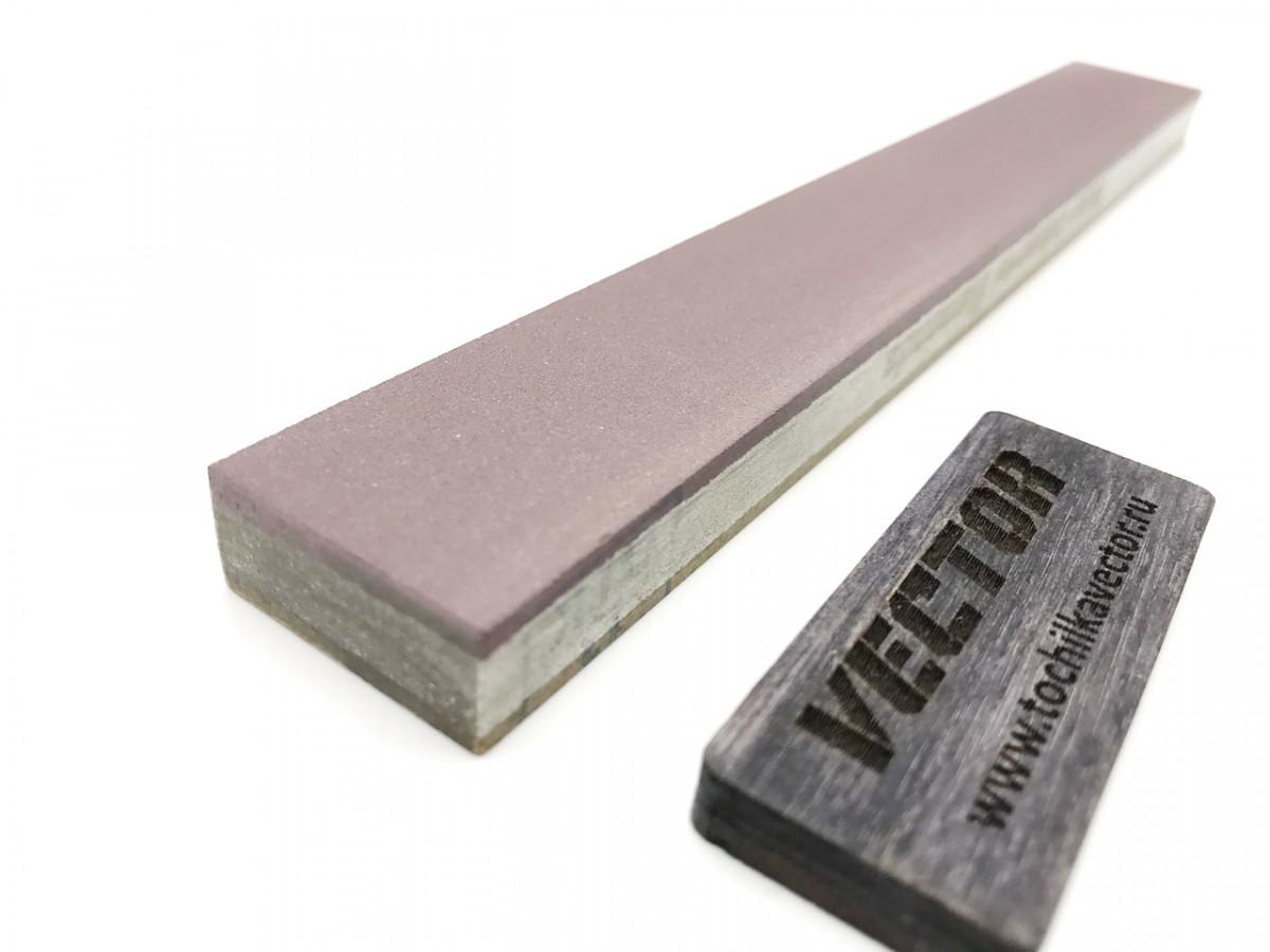 Алмазный 2-х сторонний брусок VID 3/2-1/0 (5000-9000grit) С50%, OSB, 200х25х10мм