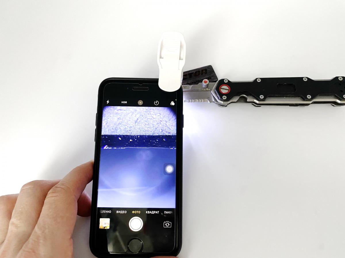 Микроскоп для камеры смартфона