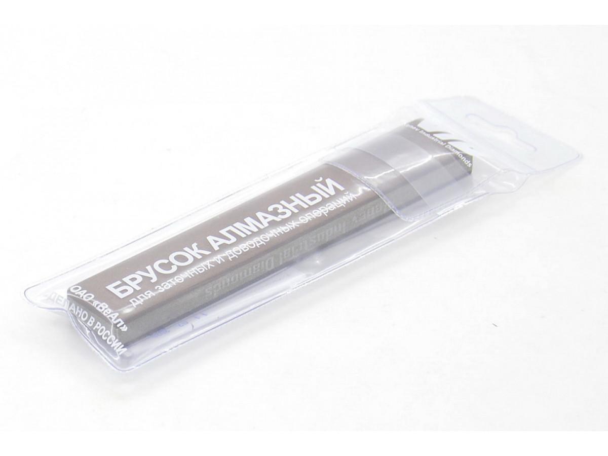 Алмазный 2-х сторонний брусок VID 20/14-7/5 (700-2500grit) С100%, 150х25х10мм