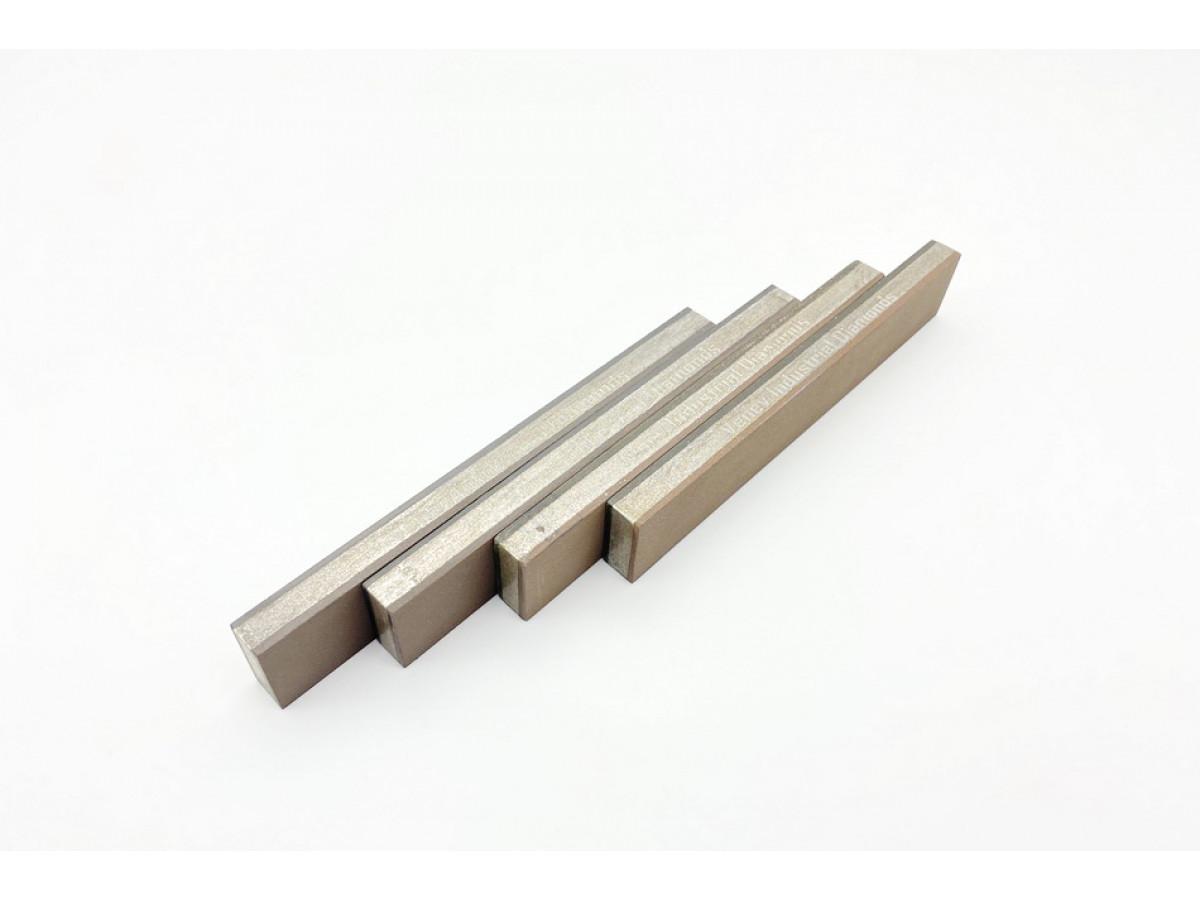 Комплект 2-х сторонних алмазных брусков VID 4 шт (8 зерен) С50%, 150х25х10мм