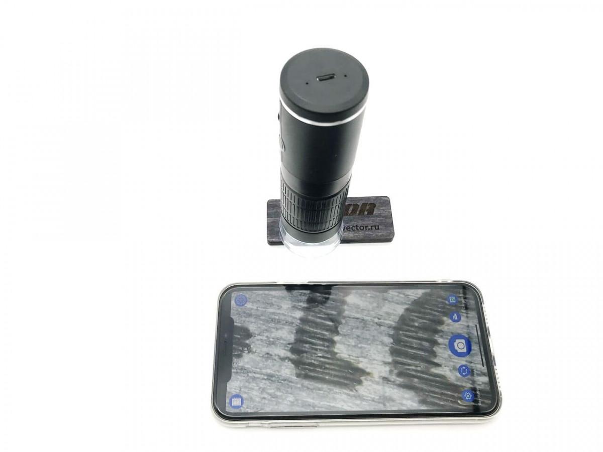 Цифровой Wi-Fi микроскоп 50х – 1000х